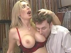 puling hardcore kjønn hvit moden mamma mor blonde store pupper bryster