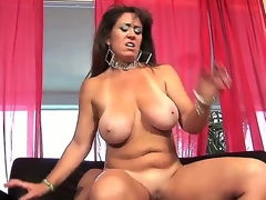 Wicked milf Anita Cannibal is having wild pounding with man. She plays with his fat throbbing piece of meat by throat and hand before getting the cock into twat.