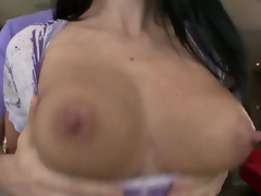 Just look at this gorgeous MILF Ava Addams, she is here to show that she is still hot. You dont have to prove obvious things, Ava. Just one glance at your body and all doubts will go far away!
