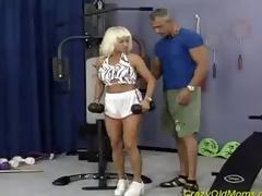 hardcore milf moden blonde blowjob virkelighet
