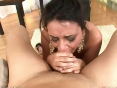 Hot unfathomable mouth session