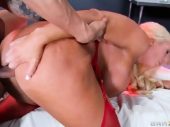milf blonde uniform bbw hd porno