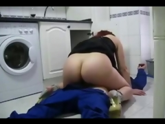 Sexy cheating wife fucks the plumber