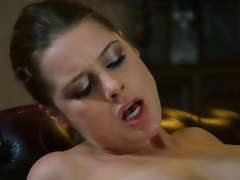 European mature MILF sucks young dude