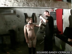 video bdsm soumise sandy subjection and fuck