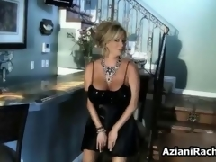 Nasty milf blonde laid on a couch