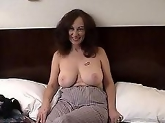 MILF slut acquires filthy with hairy dude